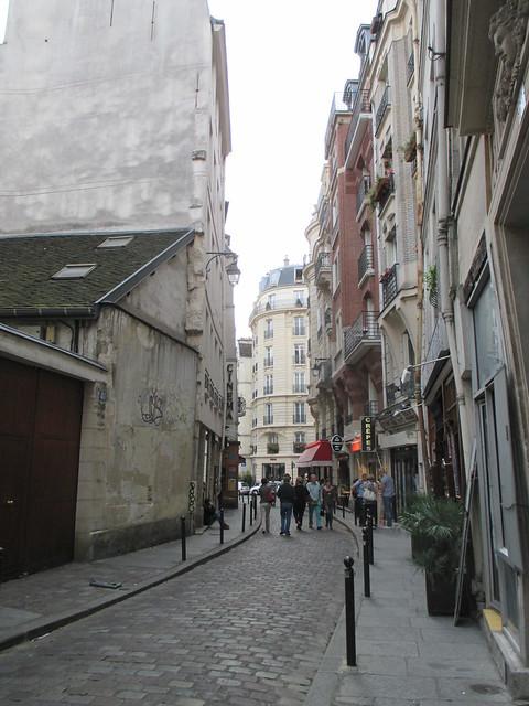 on Rue Galande