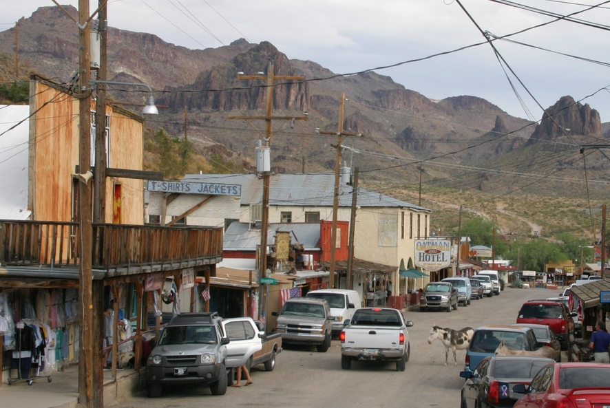 Arizona - route 66 à Oatman