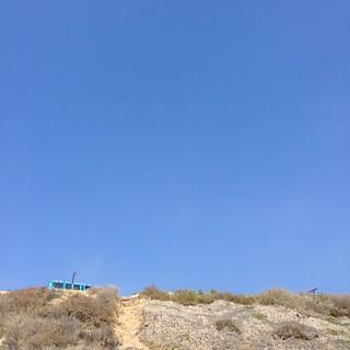 Blue. #airstreamdc2cali #ford #econoline #malibu #california #vintage