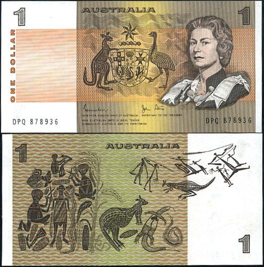 1 Dolár Austrália 1974-83, Pick 42