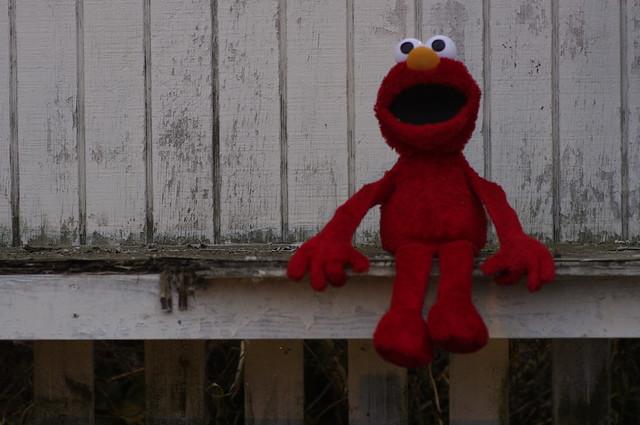 Elmo visits Sugarcreek, Ohio