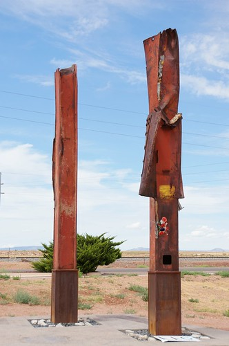 9-11 Memorial, Route 66, Winslow, Arizona