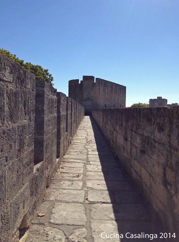 Aigues-Mortes Mauer 1