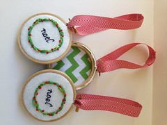 2013 holiday hoop ornaments collection