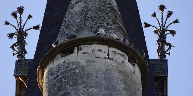 épi de faitage sur l'église Saint-André