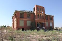 Toyah High School Building 4, Toyah, Texas