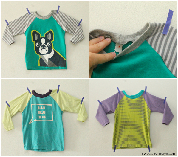 Kids Raglan Shirts