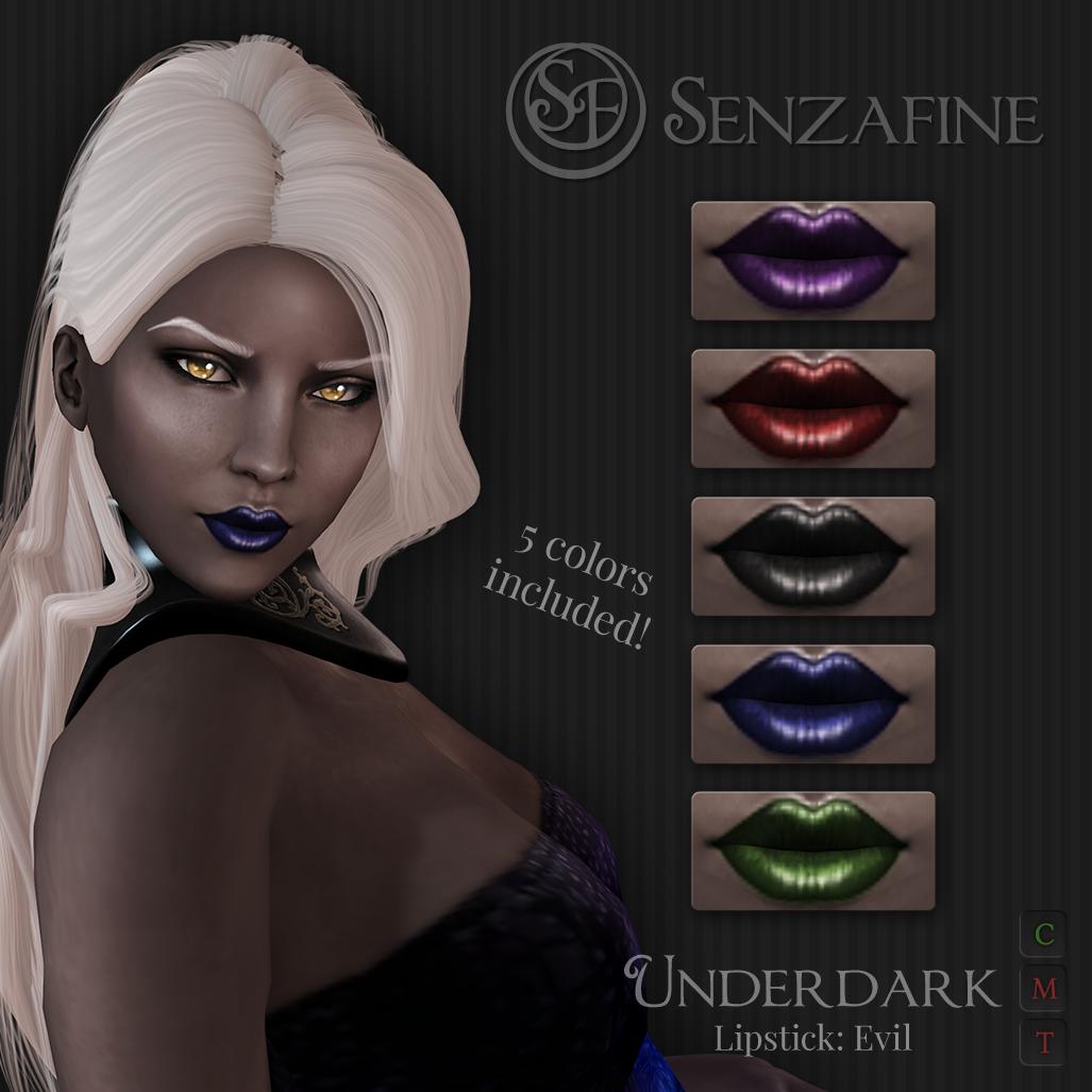 """""""Underdark"""" Lipstick: Evil Pack Ad"""