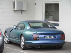 automobile, tvr cerbera, vehicle, land vehicle, supercar, sports car,