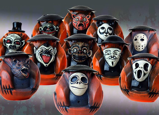 Munktiki Halloween Coconut Monkeys