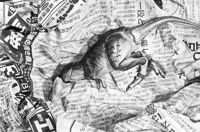 Dead Revoltech Jurrasic Park T-Rex