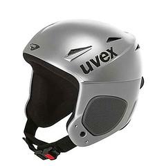Lyžařská helma UVEX Jet Ride stříbrná - titulní fotka