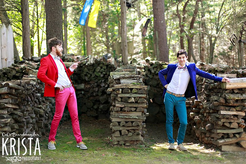 Colorful Same Sex Wedding at Essex Conference Center and Retreat