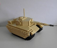 LEGO Tank - First try
