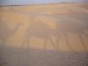 Shadows and sand