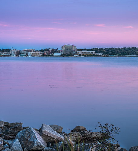 Twilight on National Harbor by Geoff Livingston