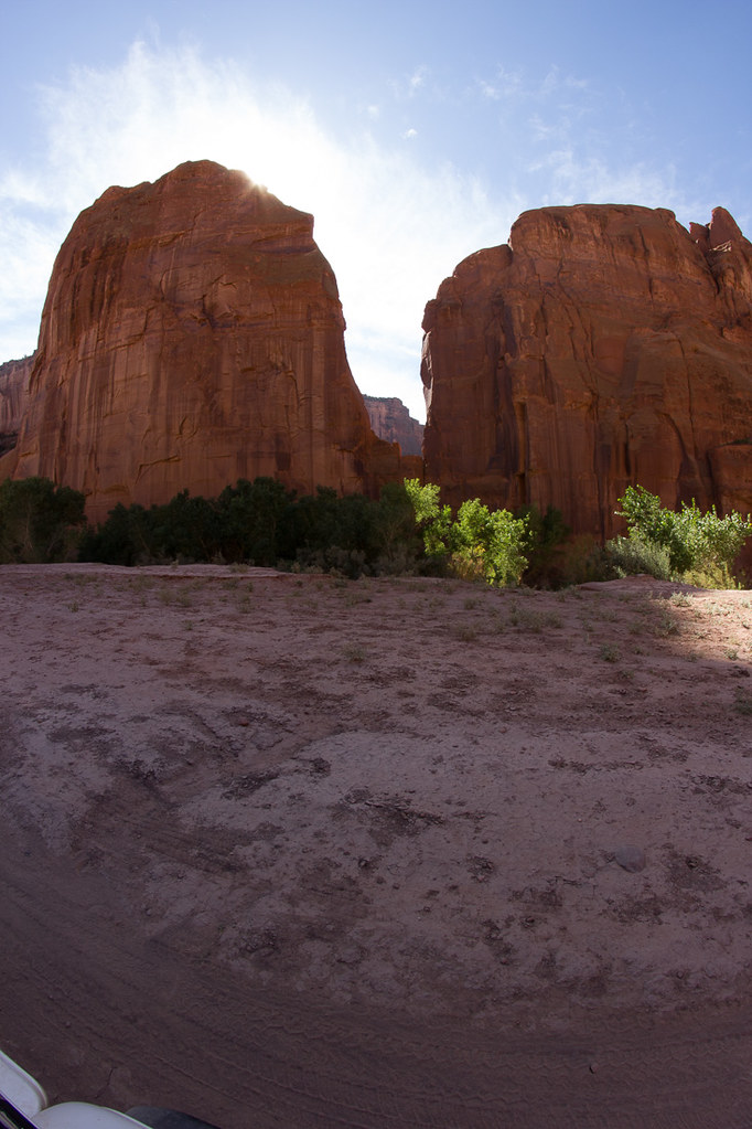 Inside Canyon de Chelly (jeep tour)