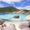 Paradise of snorkeling, scuba diving & sunbathing on Nang Yuan