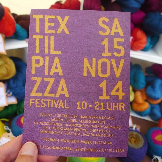 woolworxx attending textil piazza in liestal