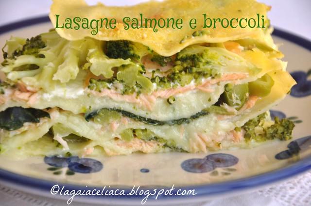 lasagne broccoli e salmone