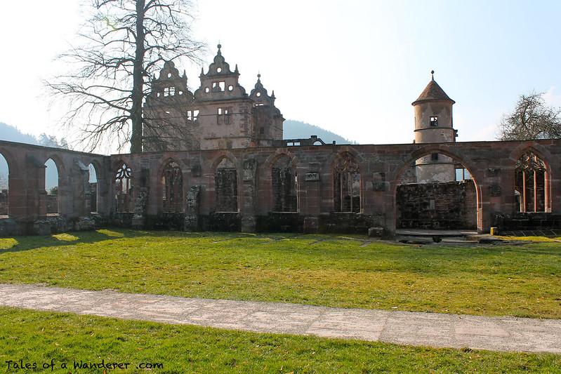 CALW - HIRSAU - Kloster Hirsau - Kreuzgang / Jagdschloss