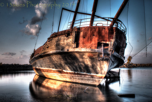 old ontario abandoned dead ship harbour rusted derelict stranded qew listing ghostship jordanstation leprogress