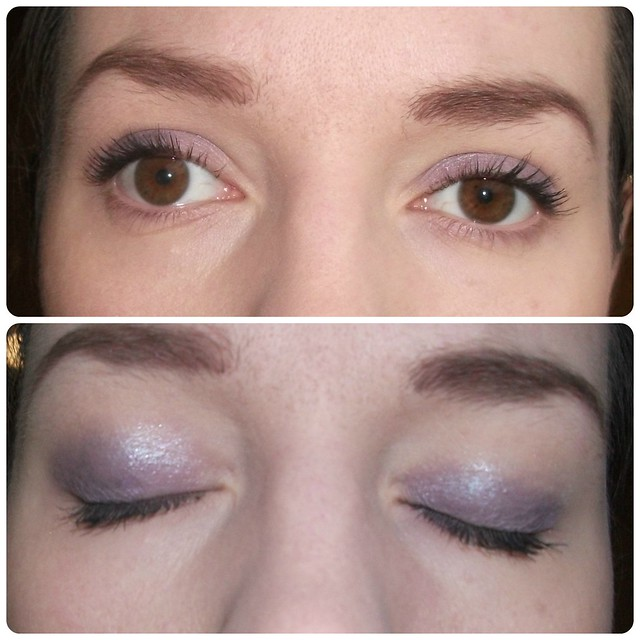 MR I Heart Passion Purple Eye Look