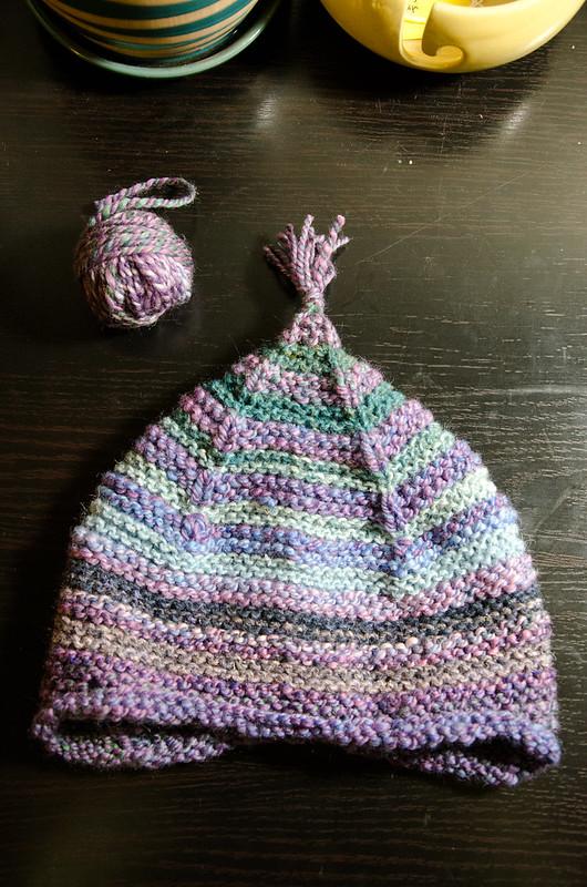 half handspun hat