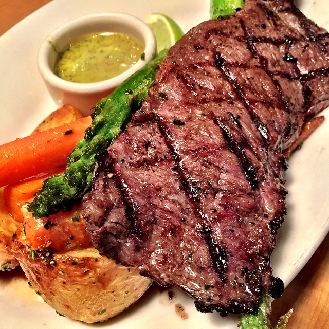 Skirt Steak with Chimichurri Sauce @ Nordstrom Marketplace Cafe ...