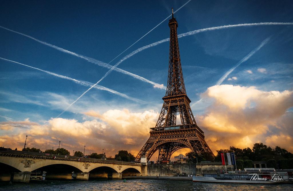 La Tour Eiffel après la pluie (2)