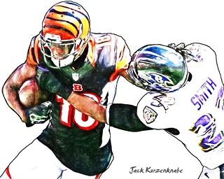Cincinnati Bengals A.J. Green - Baltimore Ravens Jimmy Smith