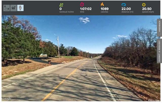 Virtually Biking Across America - Day 101