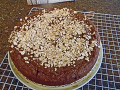 Lentil - Spelt Carrot Cake