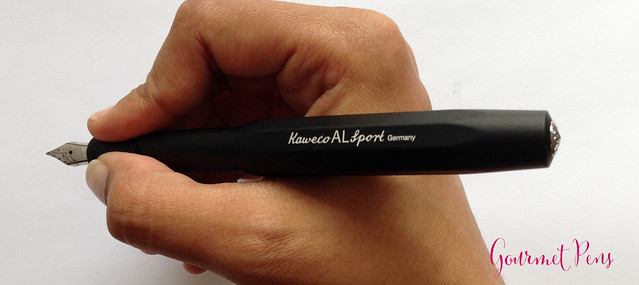 Review: Kaweco Al-Sport Black Fountain Pen - Medium @ShopBigBen @Kaweco