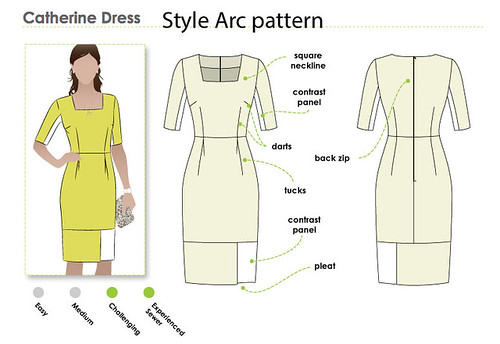 Style Arc Catherine dress