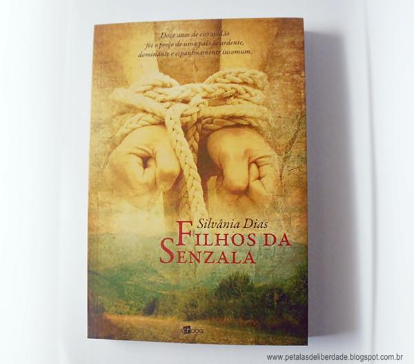 Livro, Filhos da Senzala, Silvânia Dias, Editora Schoba, sinopse