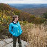 Emily at Shenandoah National Park