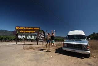 VINO, YES!!!!  Napa Valley, California.