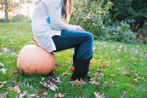 Just sittin' on my pumpkin.