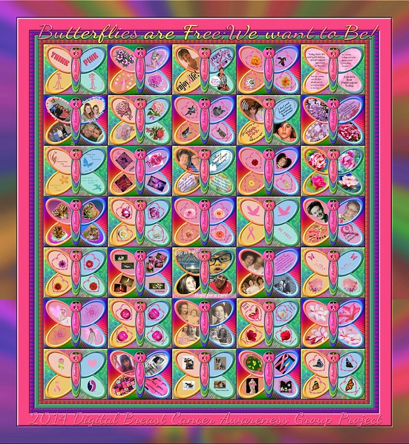 The 7th Annual 2014 Digital Breast Cancer Awareness Quilt Sparkling Version!