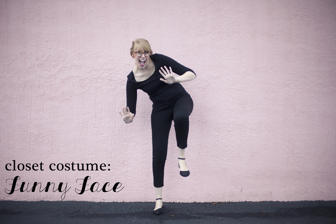 funny face costume