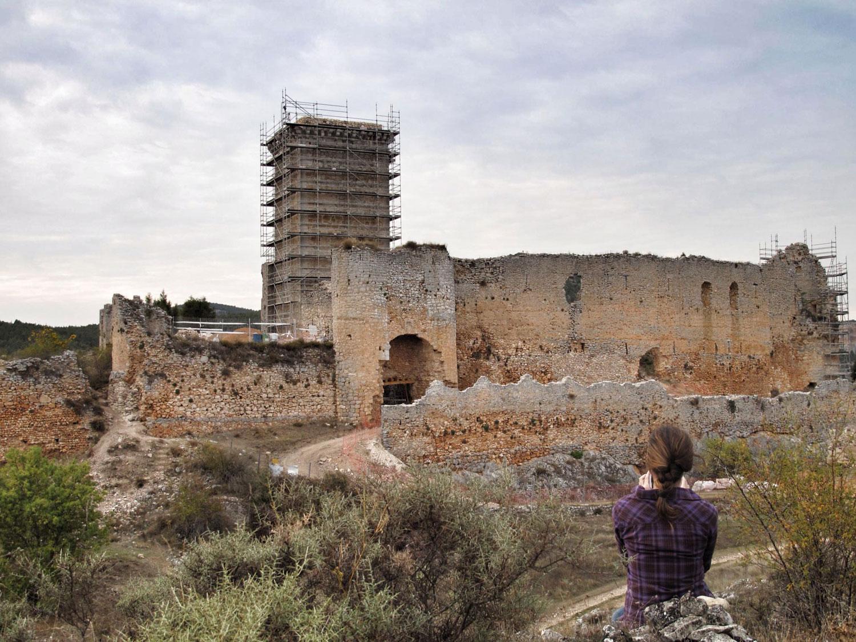 reharq_castillo ucero_soria_visita monumentos restauracion_IPCE
