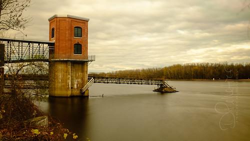 longexposure canada tower river québec troisrivieres borealis troisrivières stmaurice