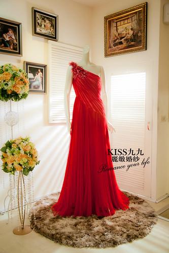 高雄KISS九九麗緻婚紗-推薦婚紗禮服-限量訂製款4 (1)