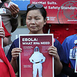 Nurses Call on Federal OSHA, Other States to Follow California Mandate of Highest Ebola Safeguards