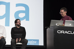 Charles Nutter and Mark Reinhold, Community Panel, JavaOne Technical Keynote Replay, JavaOne 2014 San Francisco