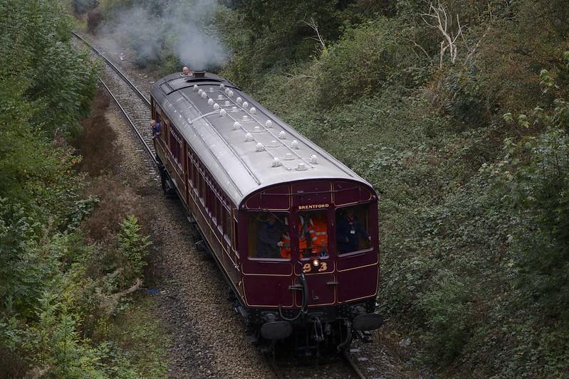 Railmotor First Run