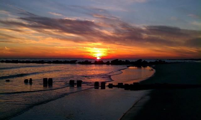 Sunset After Sandy 2