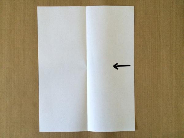 One-Sheet Mini-Zine Step 1