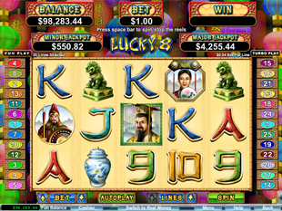 Lucky 8 slot game online review